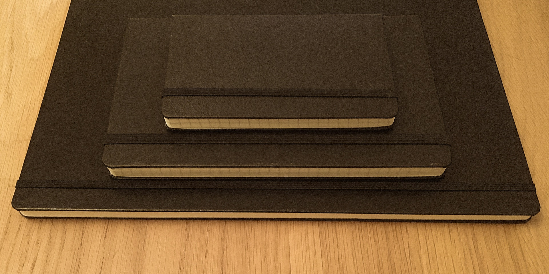 Moleskine and Leuchtturm notebooks